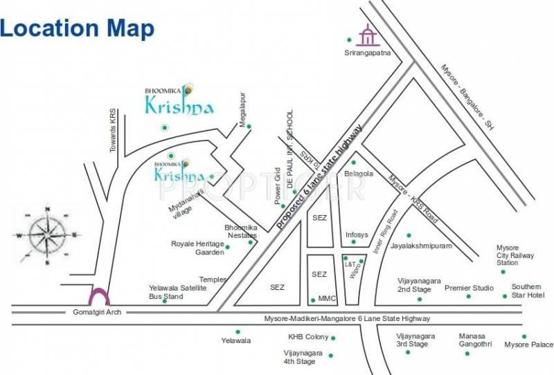 Images for Location Plan of Bhoomika Krishna