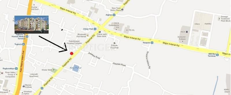Images for Location Plan of SJC Constuction Prithibi Enclave