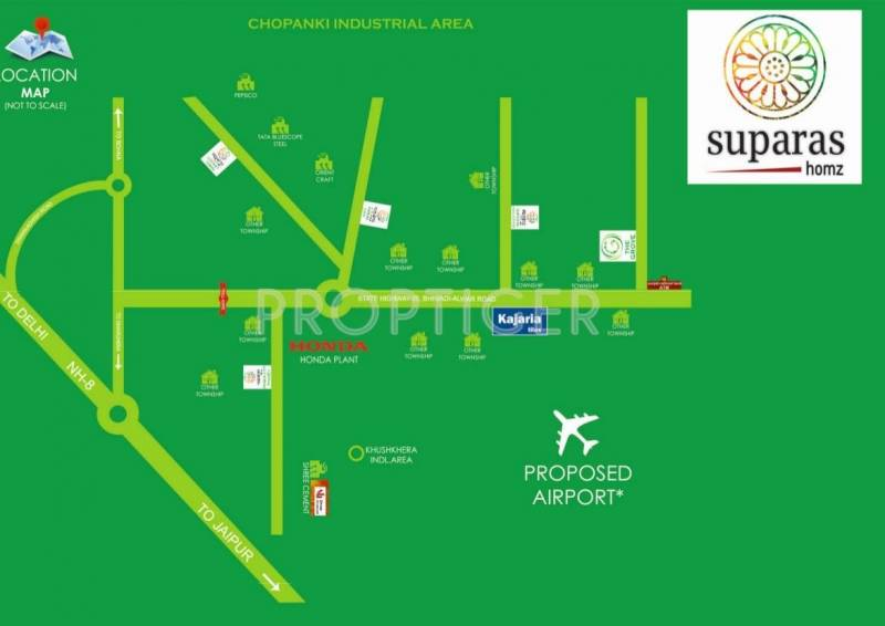 Images for Location Plan of Suparas The Grove
