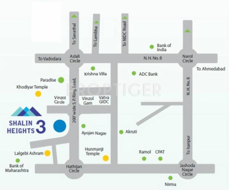 Images for Location Plan of Shalin Heights 3