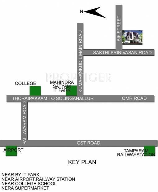 Images for Location Plan of Vijay Sri Sai Villa