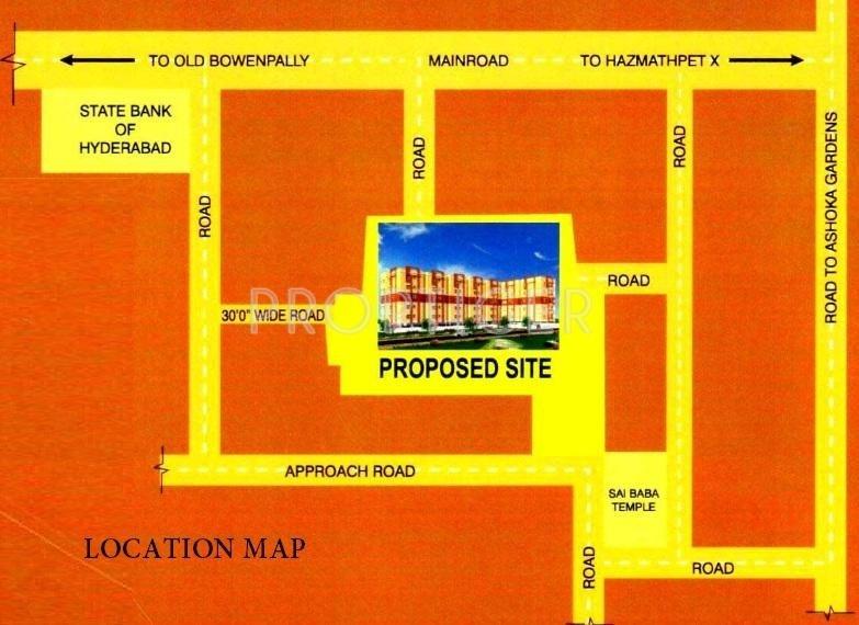Images for Location Plan of KJR Pratyush Arcade