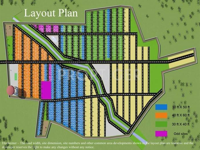 Images for Layout Plan of Galaxy Rajalakshmi Residency