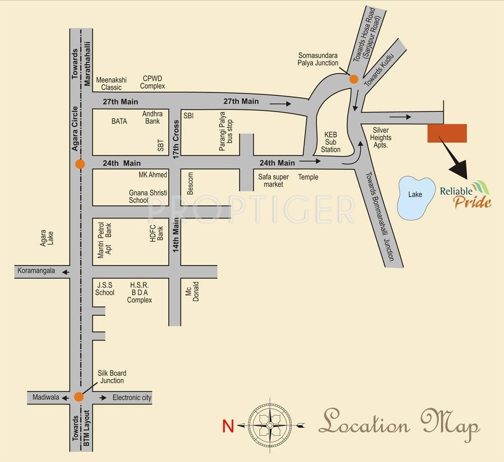 1010 Sq Ft 2 Bhk 2t Apartment For Sale In Vsg Developers