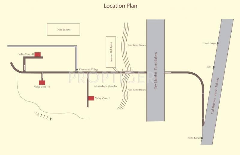 Ashapura Buildcon Valley Vista 2 Location Plan