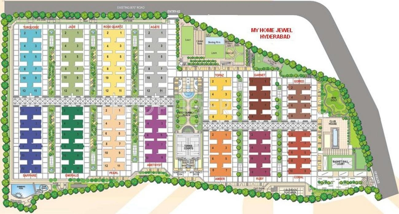 1685 Sq Ft 3 Bhk 3t Apartment For Sale In My Home Jewel