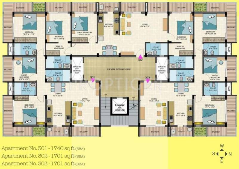 Images for Cluster Plan of Chowriappa Construction Grazia