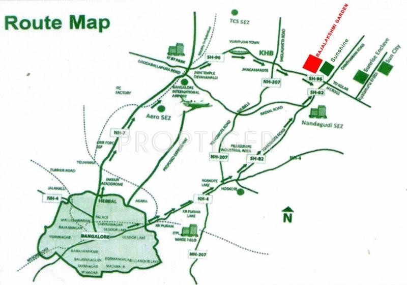 Images for Location Plan of Galaxy Rajalakshmi Garden