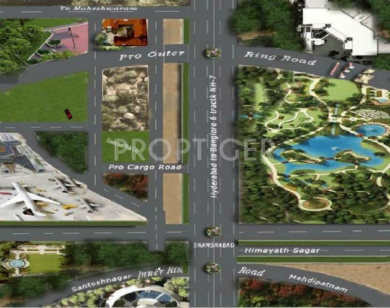 Images for Location Plan of Orchid Green Land Pink City
