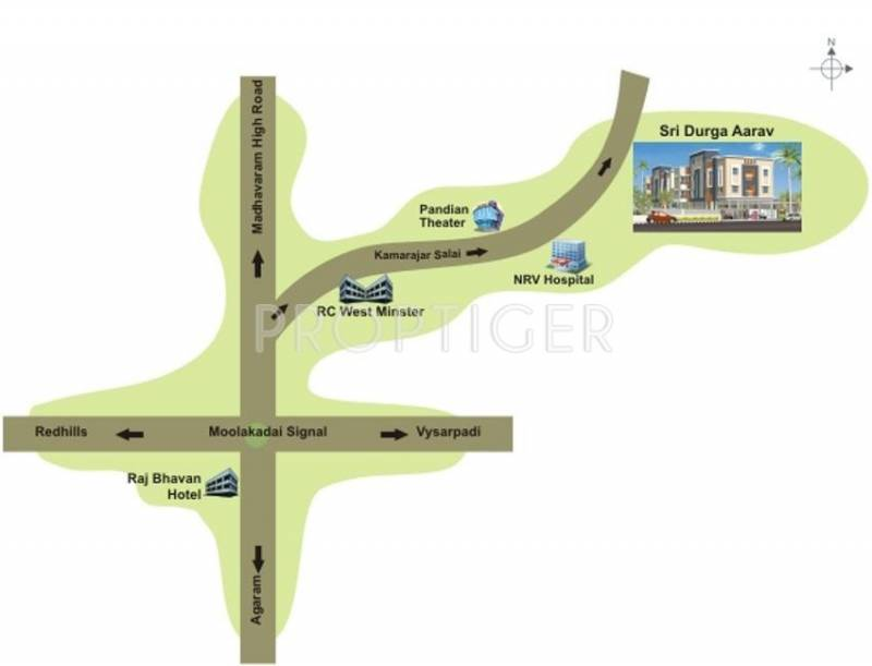 Images for Location Plan of Sri Durga Sri Durga Aarav