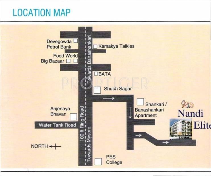Images for Location Plan of Nandi Elite