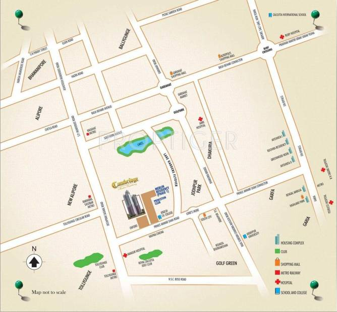 cambridge Images for Location Plan of Merlin Cambridge