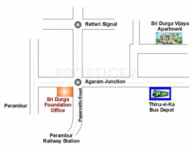 Images for Location Plan of Sri Durga Vijaya Apartments