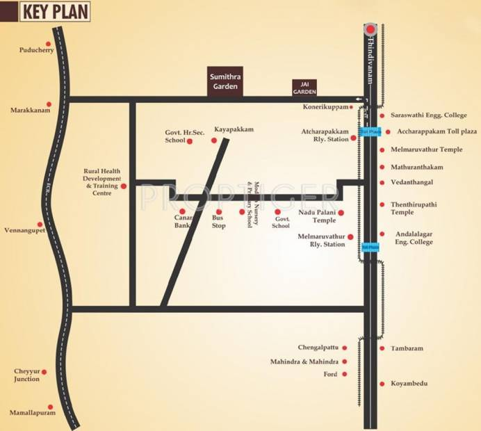 Images for Location Plan of Jai Sumithra Garden