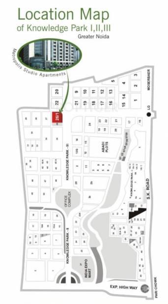 Images for Location Plan of Vardhman Metropolis 1