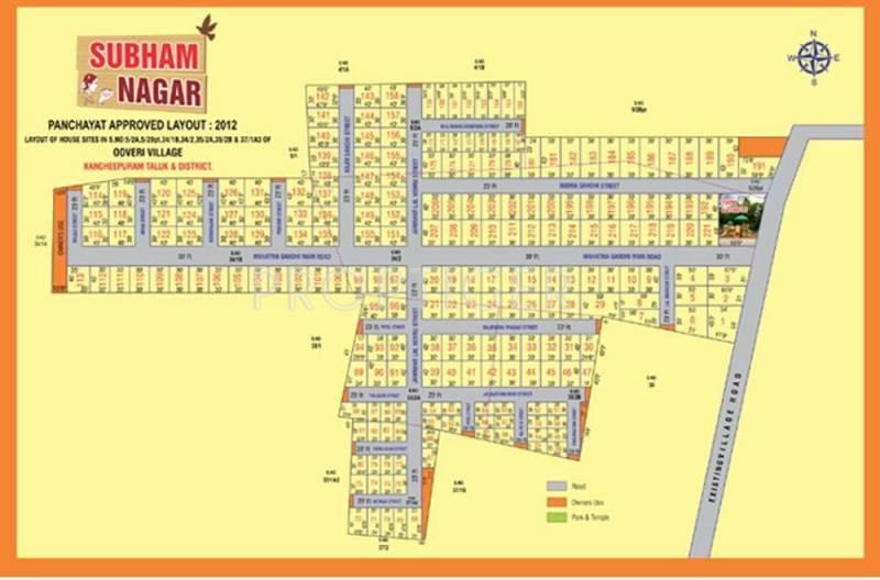 Images for Layout Plan of Jai Subham Nagar