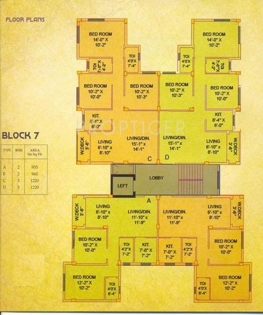 Images for Cluster Plan of Jain Dream Exotica