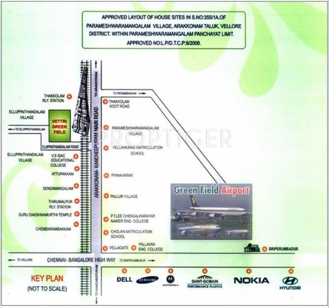 Images for Location Plan of Jai Vettri Green Field