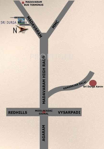 Images for Location Plan of Sri Durga Aarna