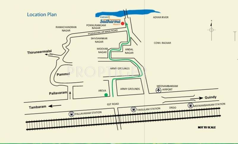 Images for Location Plan of Radiance Realty Sudharma Phase II