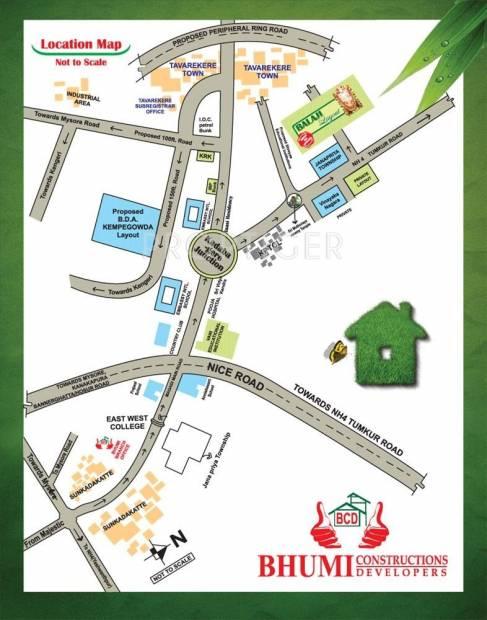 Bhumi Construction Balaji Layout Location Plan