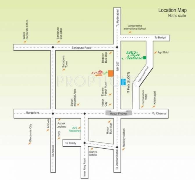 Images for Location Plan of Janani AVS La Nature