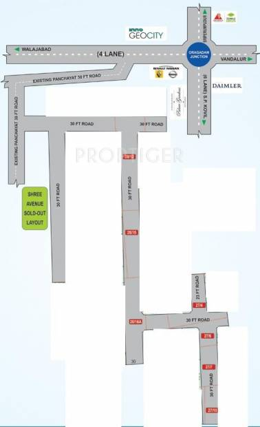 Images for Location Plan of Avani Shree Avenue Extension