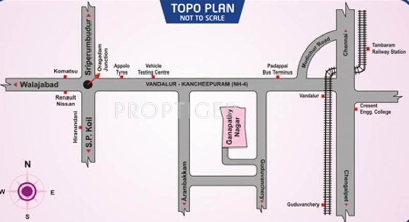 Images for Location Plan of Avani Ganapathy Nagar