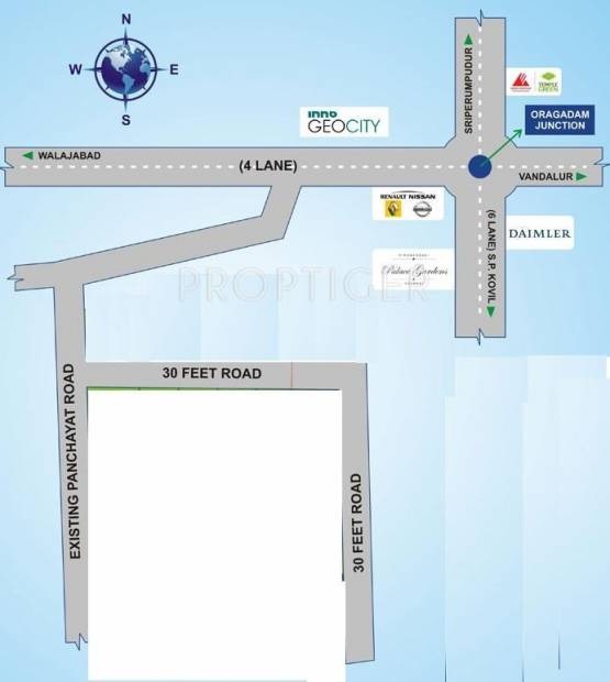 Images for Location Plan of Avani Shree Avenue