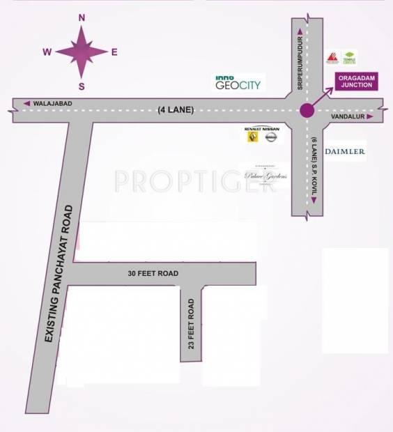 Images for Location Plan of Avani Prithvi Enclave