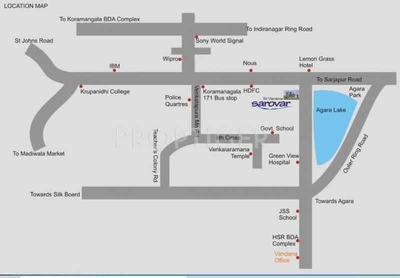 Images for Location Plan of Vandana Sarovar