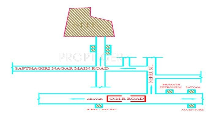 Images for Location Plan of Subiksha Anirudh