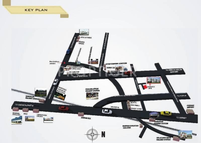 Images for Location Plan of StepsStone Venkata Villas
