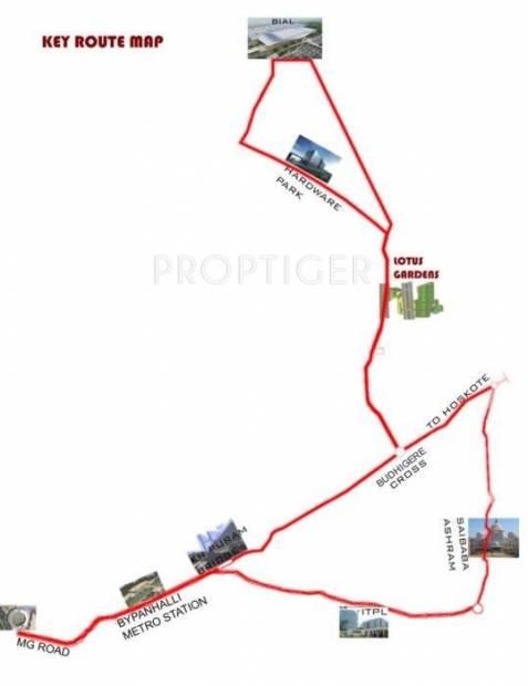 Images for Location Plan of North Abhyudaya Lotus Gardens