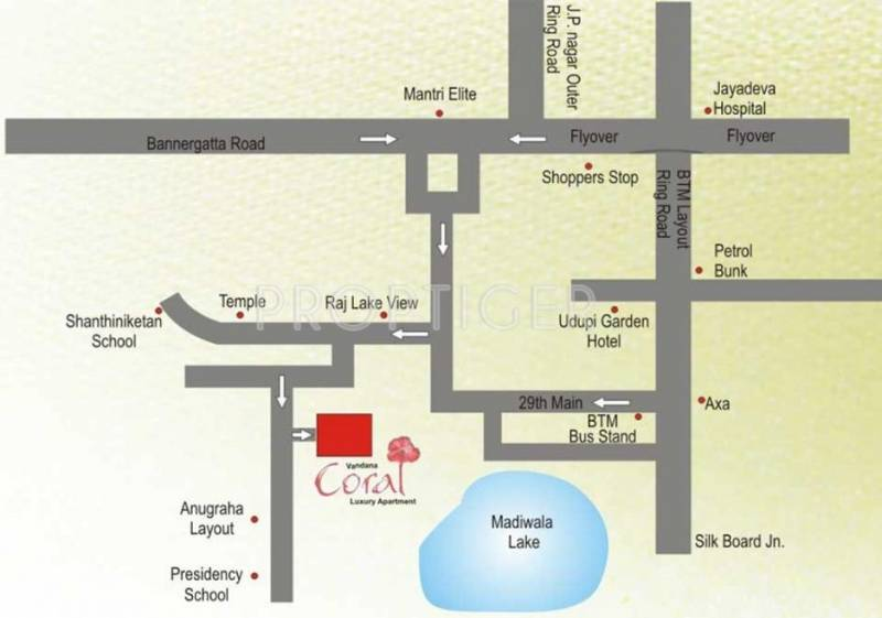 Images for Location Plan of Vandana Coral