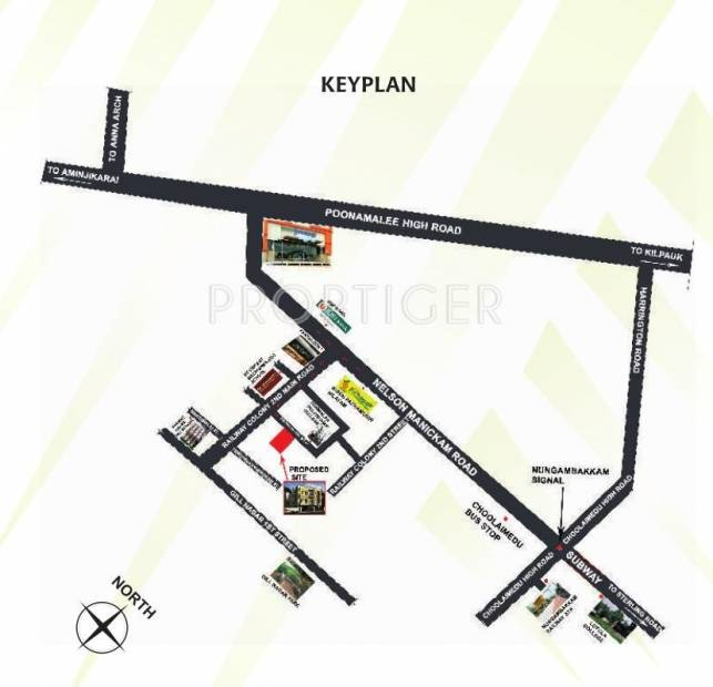 Images for Location Plan of StepsStone Sai Dharaa