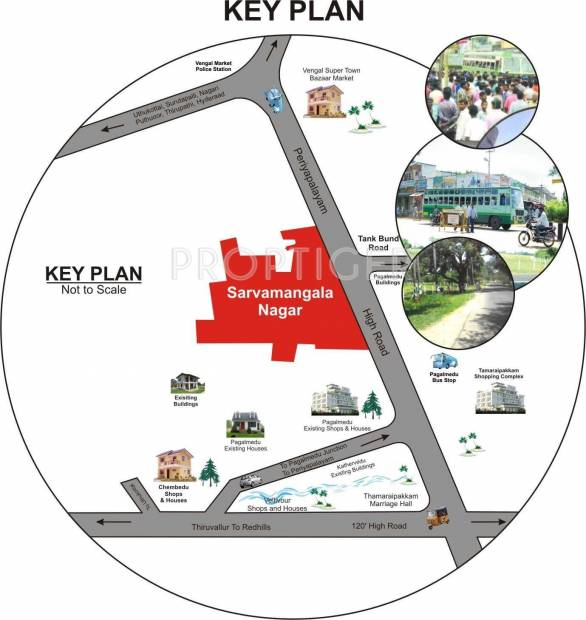 Images for Location Plan of Aysha Sarvamangala Nagar