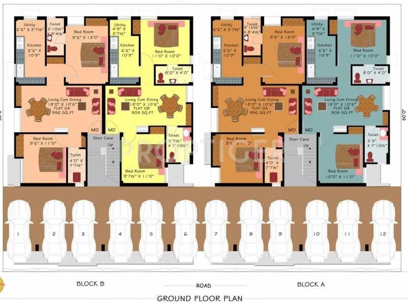 Images for Cluster Plan of Arrummula Saravana Enclave