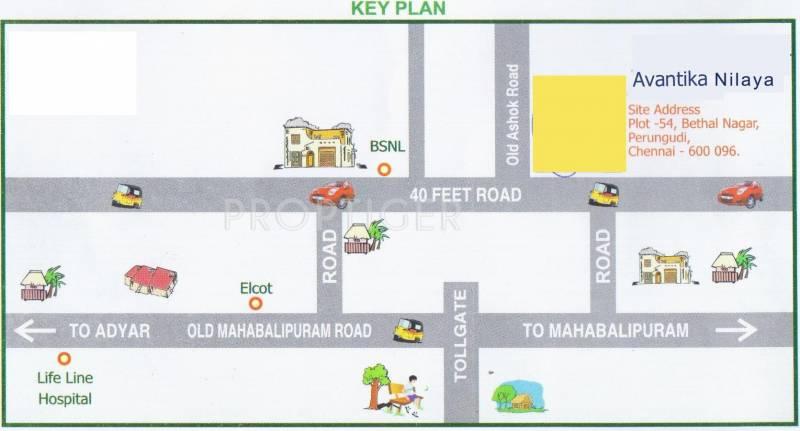 Images for Location Plan of Kosalram Avantika Nilaya