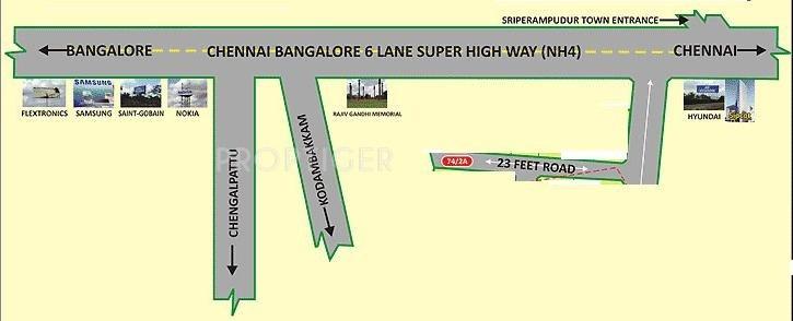 Images for Location Plan of Avani Nethaji Nagar