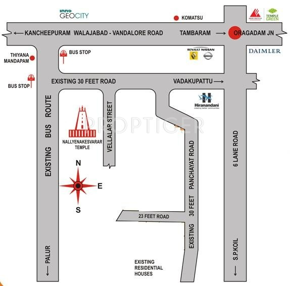 Images for Location Plan of Avani Suthandhira Avenue