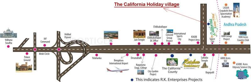 Images for Location Plan of RK The California Holiday Village