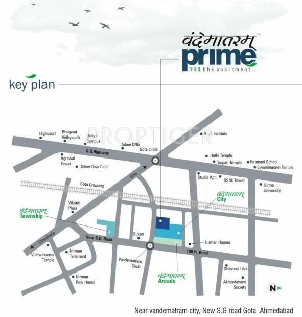 Images for Location Plan of Vyapti Vandemataram Prime
