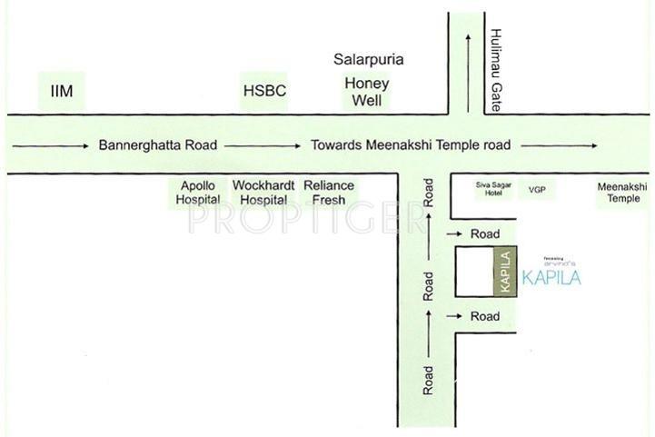 Arvind Builders Kapila Location Plan