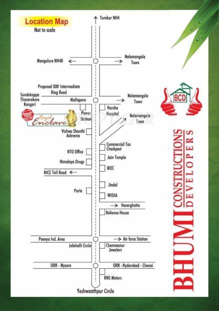 Bhumi Construction Royal Enclave Location Plan