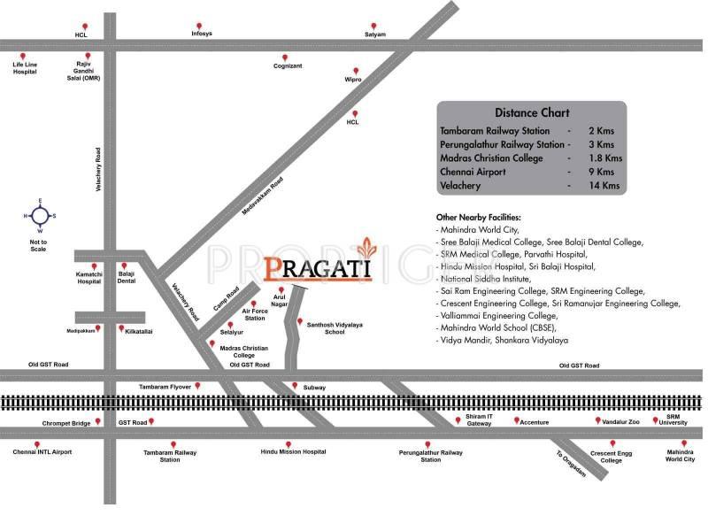 Images for Location Plan of My PropTree Pragati