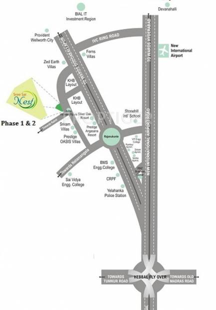 Images for Location Plan of S And S Sree Sai Nest Phase 2