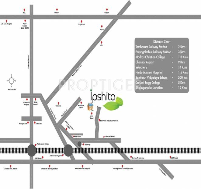 Images for Location Plan of My PropTree Ipshita
