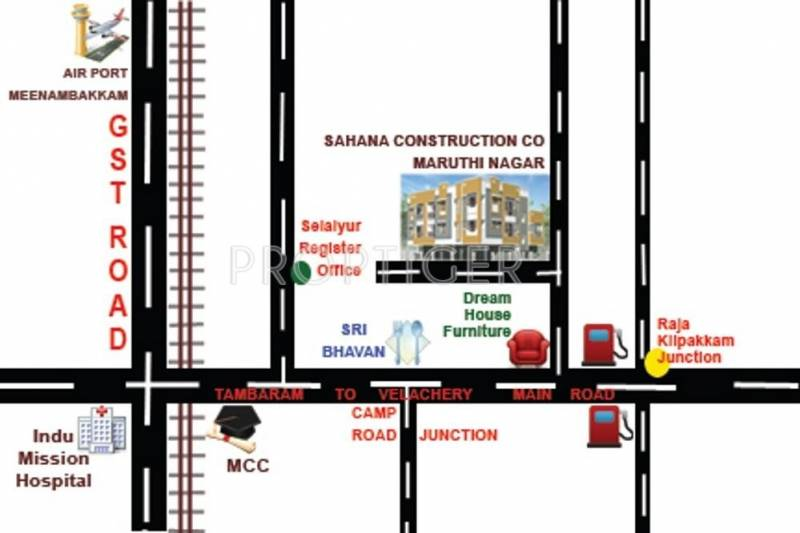 Images for Location Plan of Sumeru Sahana Flats