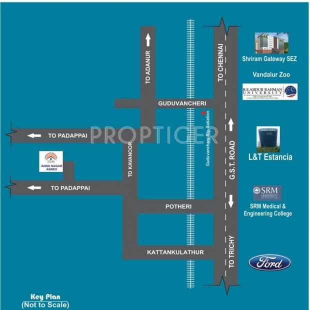 Images for Location Plan of Vamanan Estates Anna Nagar Annex
